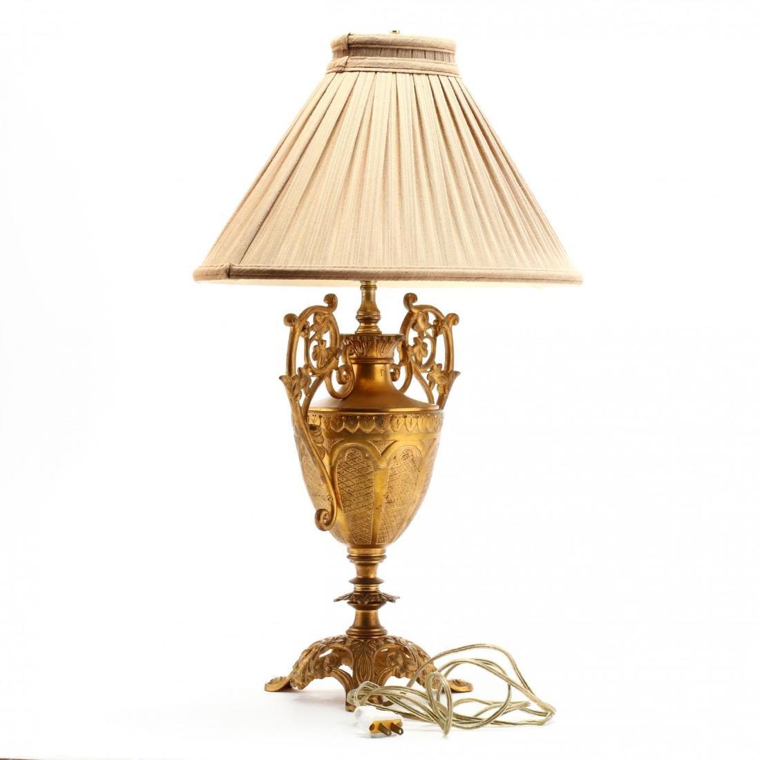 Renaissance Style Urn Form Table Lamp - 3