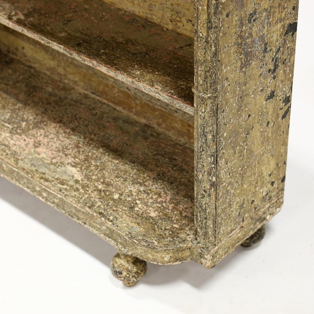 Continental Painted Book Shelf - 3