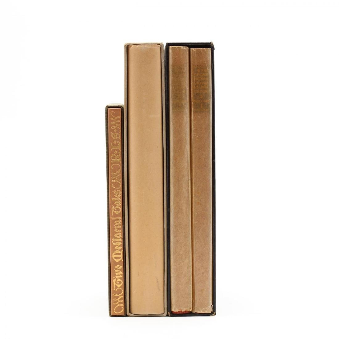 Three Prewar Limited Editions Club Slipcased Books With - 2