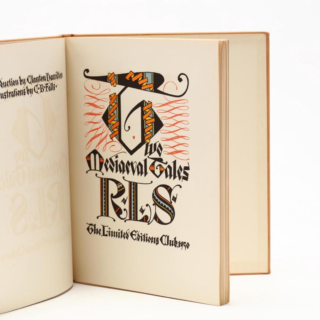Three Prewar Limited Editions Club Slipcased Books With - 5