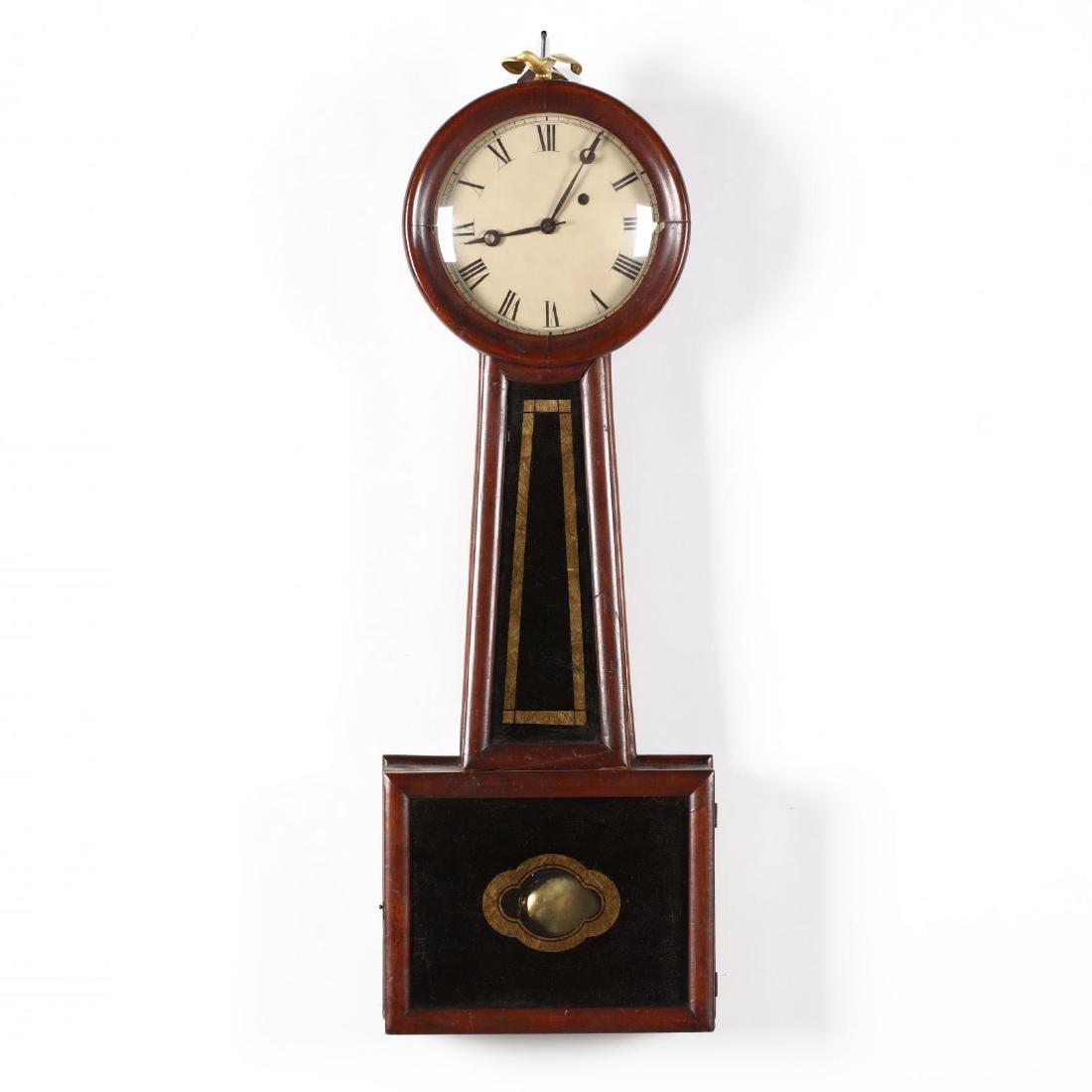 E. Howard Federal Banjo Clock