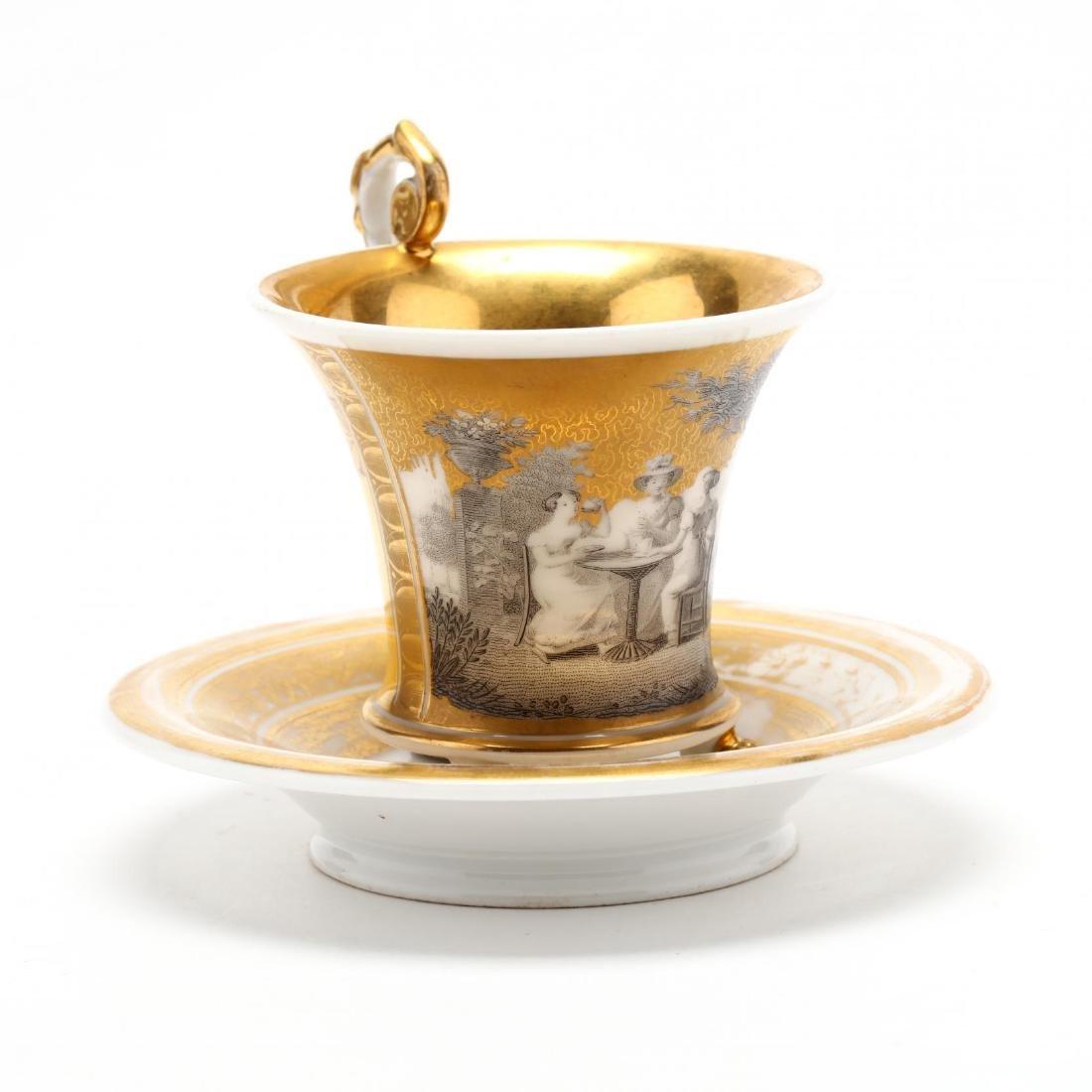 Paris Porcelain Cup and Saucer