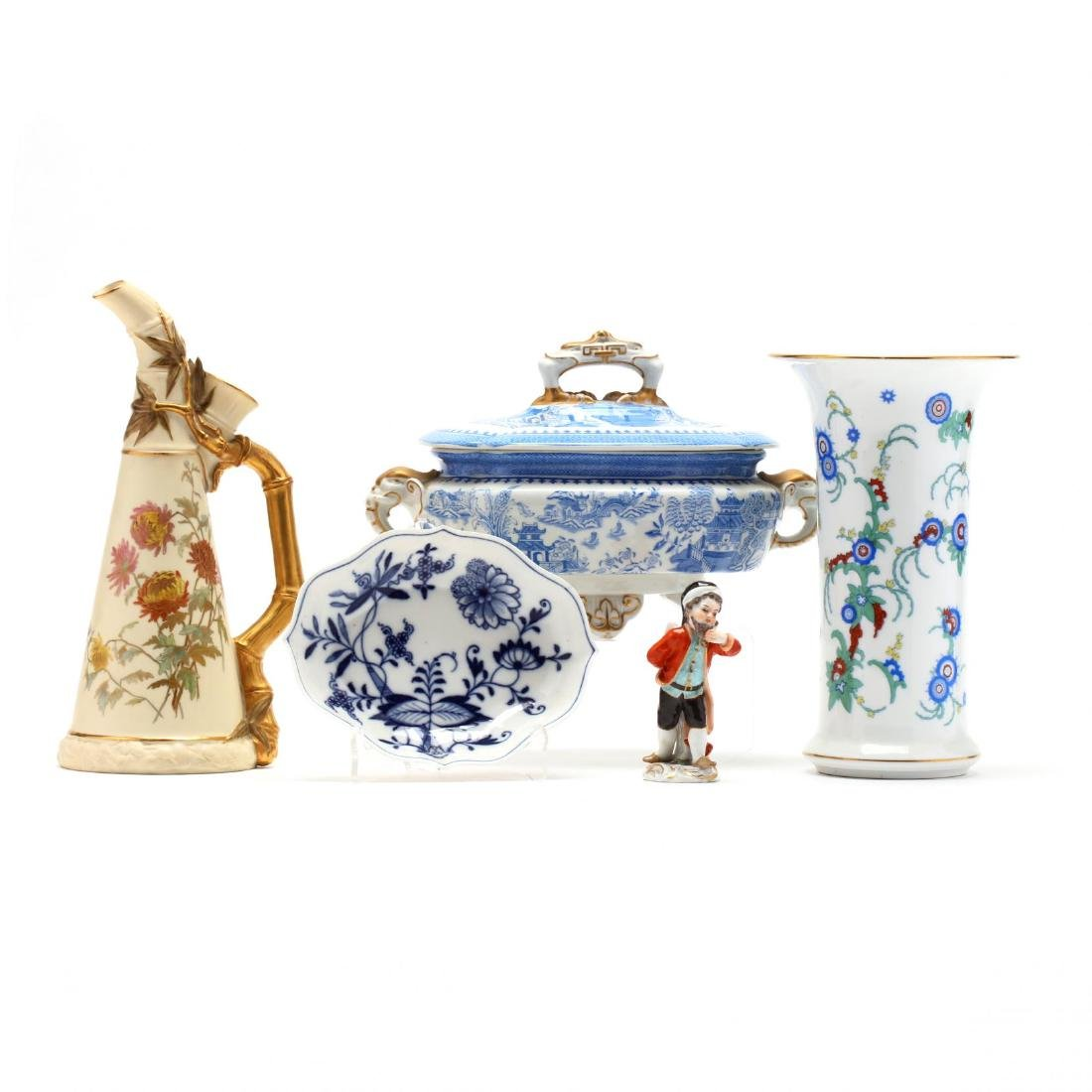 A Group of Fine Continental Porcelain