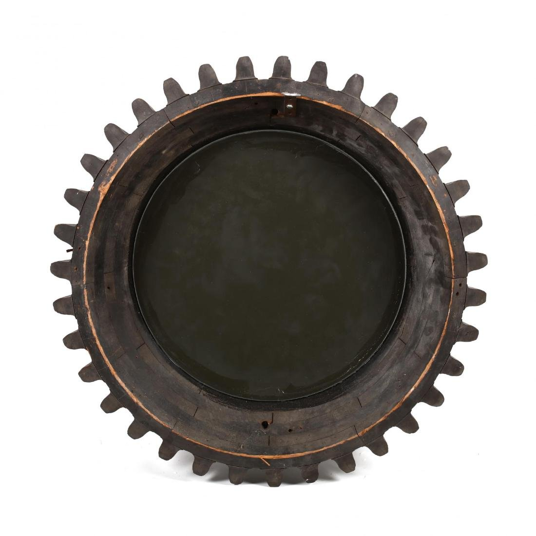 Industrial Gear Framed Wall Mirror - 3