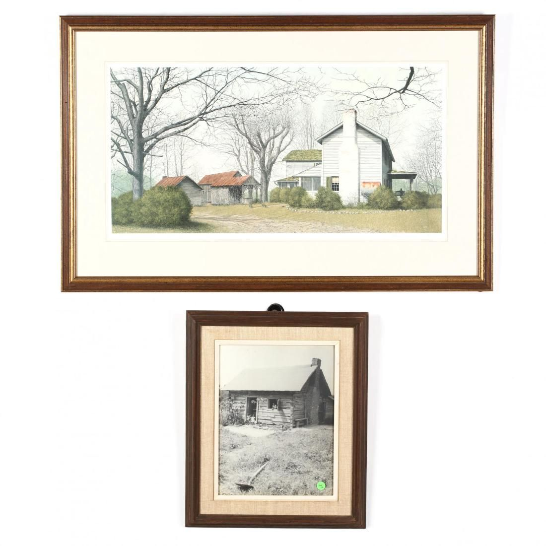 Two Framed Rural Views