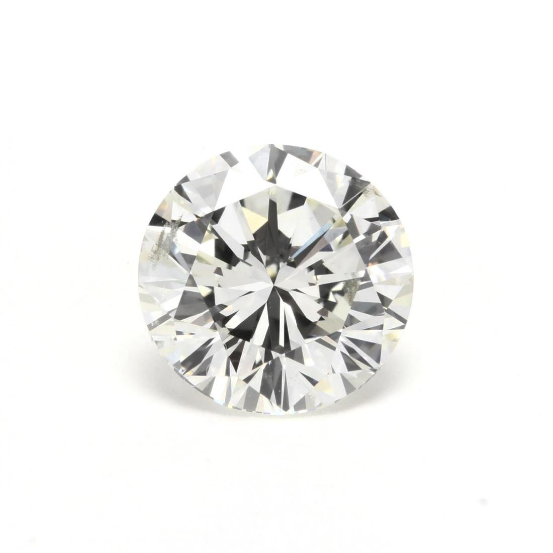 Unmounted Round Brilliant Cut Diamond and 14KT Gold - 2
