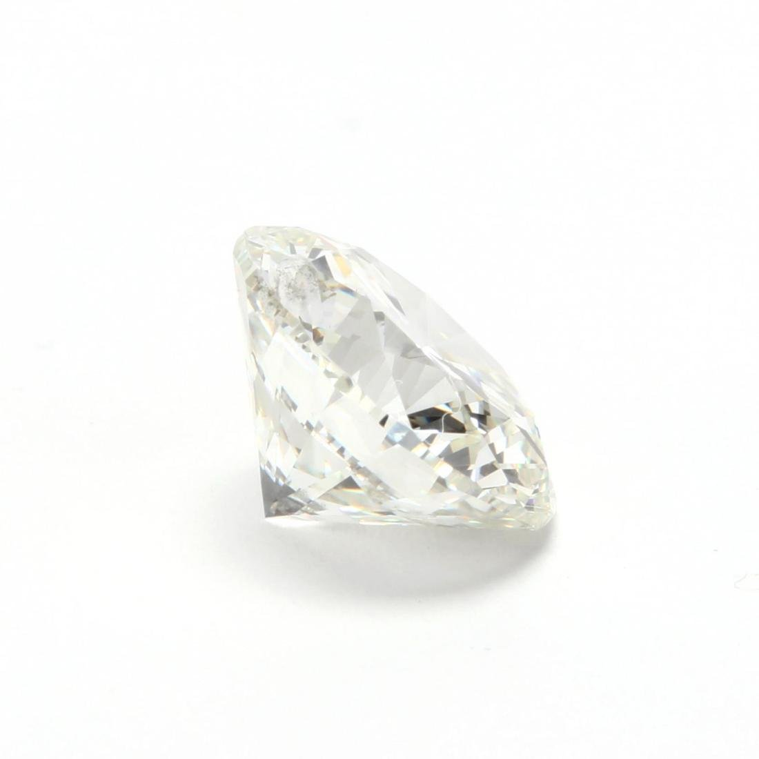 Unmounted Round Brilliant Cut Diamond and 14KT Gold - 3
