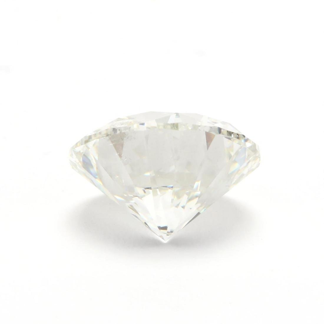 Unmounted Round Brilliant Cut Diamond and 14KT Gold - 4