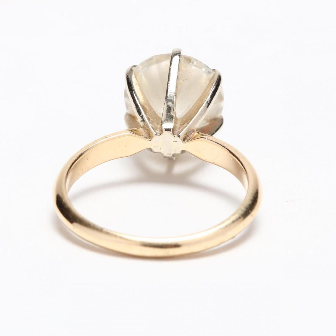 Unmounted Round Brilliant Cut Diamond and 14KT Gold - 6