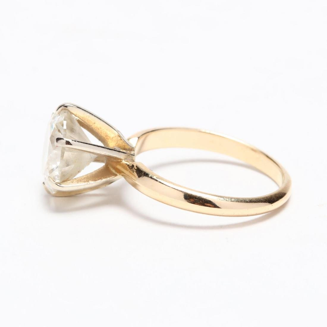 Unmounted Round Brilliant Cut Diamond and 14KT Gold - 7