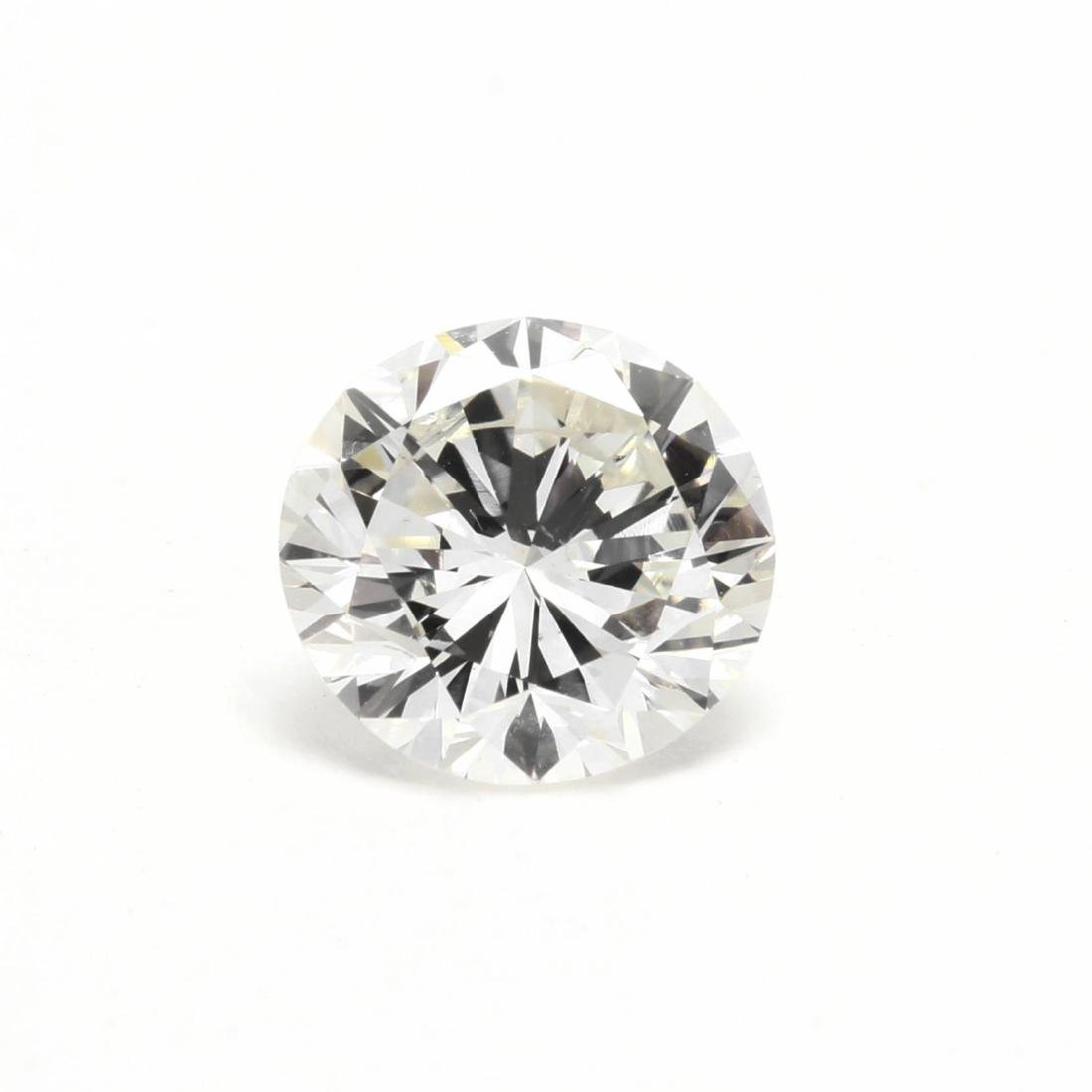 Unmounted Round Brilliant Cut Diamond