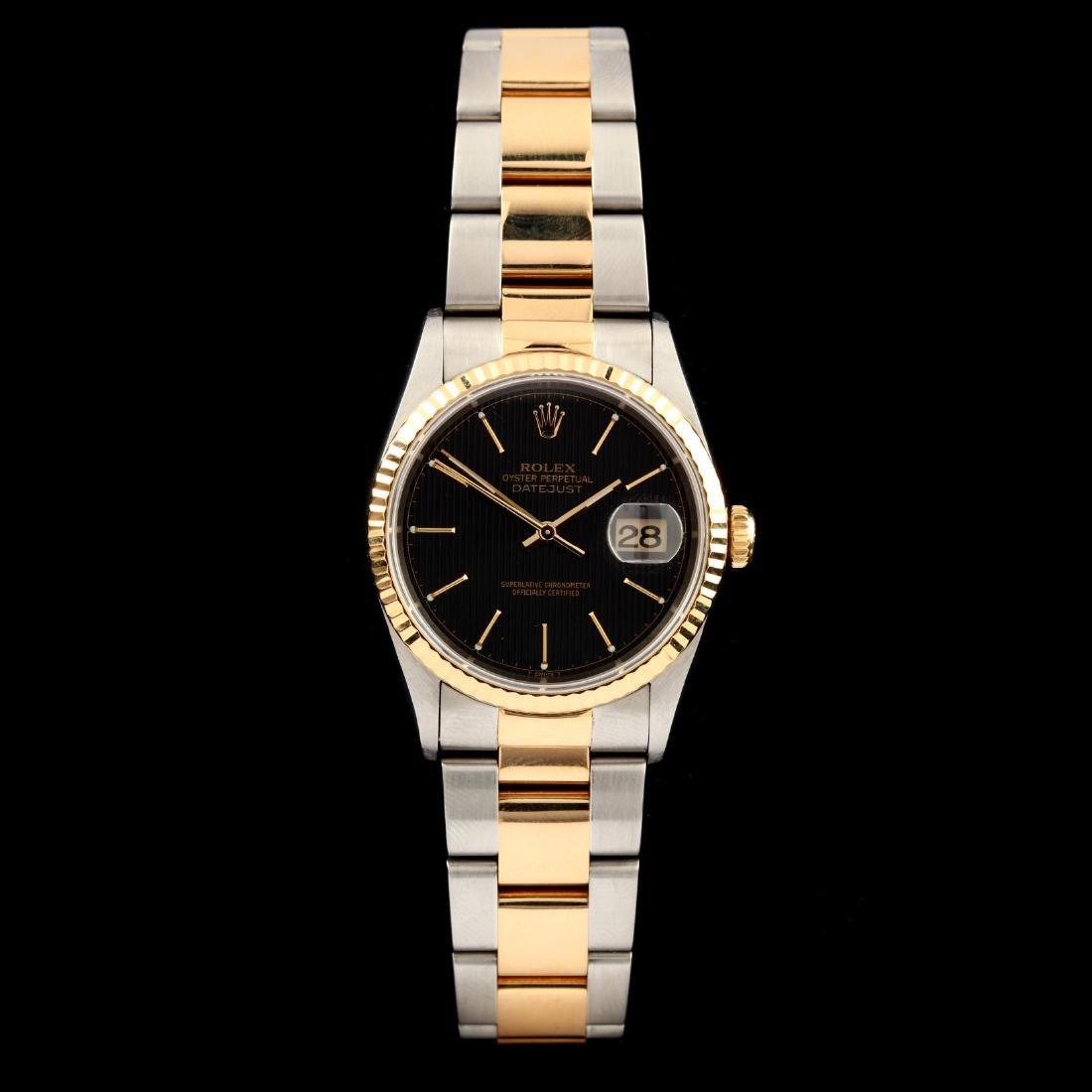 "Gent's Two Tone ""Datejust"" Watch, Rolex"