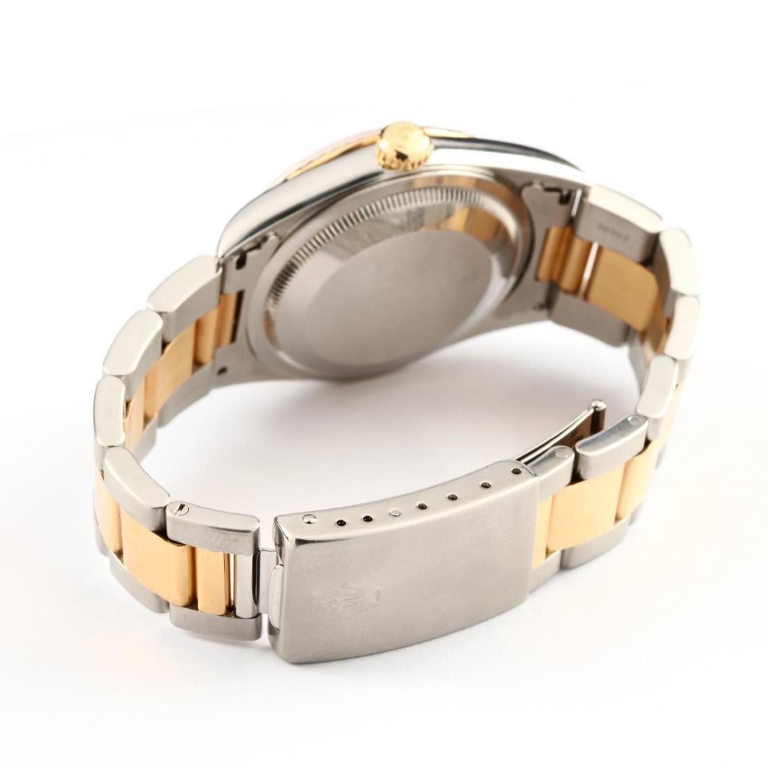 "Gent's Two Tone ""Datejust"" Watch, Rolex - 4"