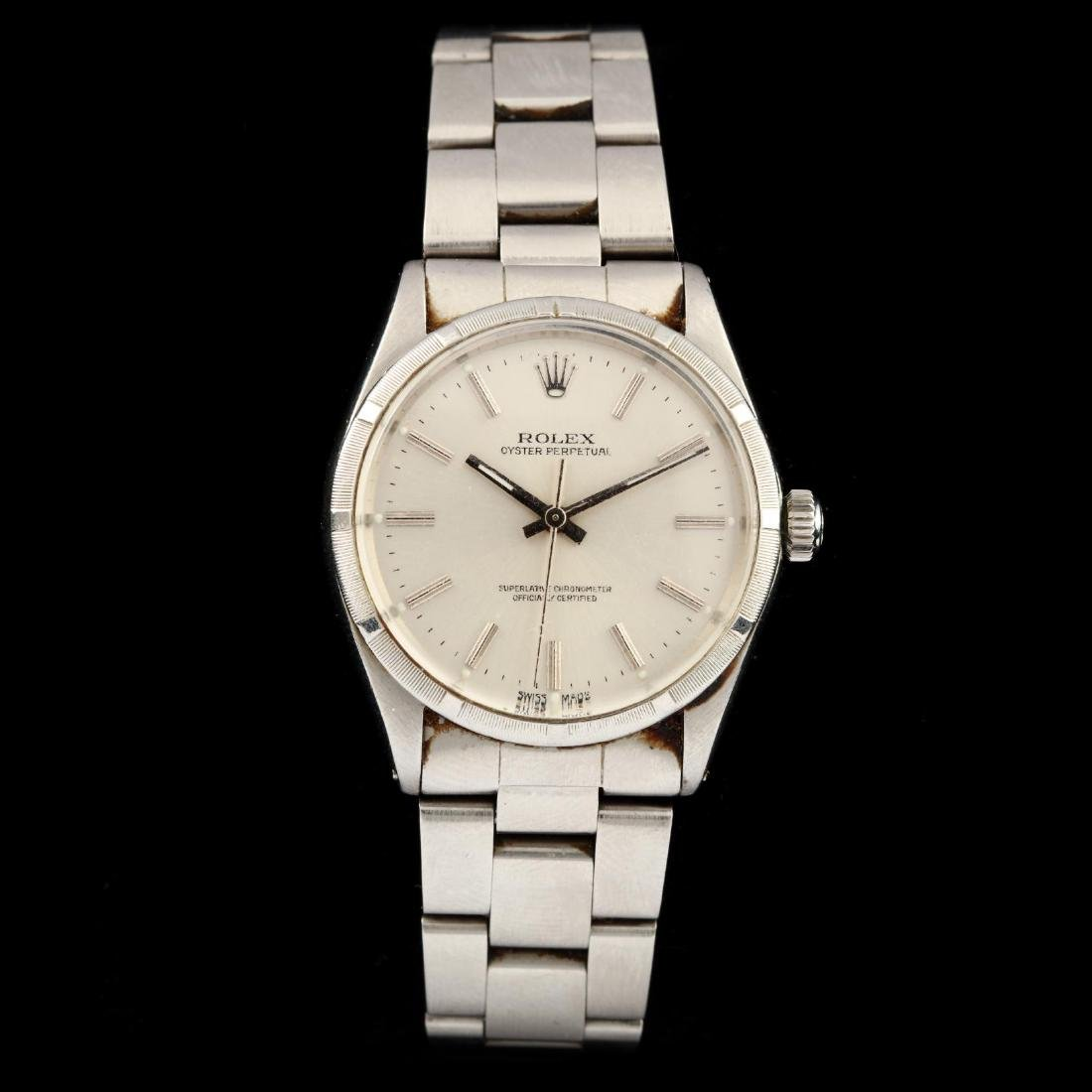 """Gent's Stainless Steel """"Oyster Perpetual"""" Watch, Rolex"""