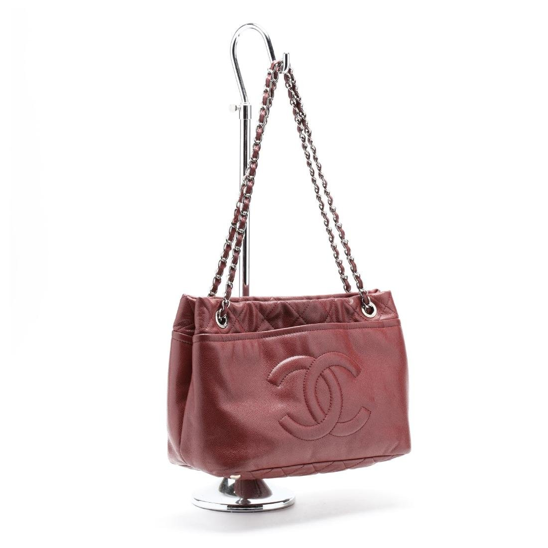 Logo Shopping Tote, Chanel