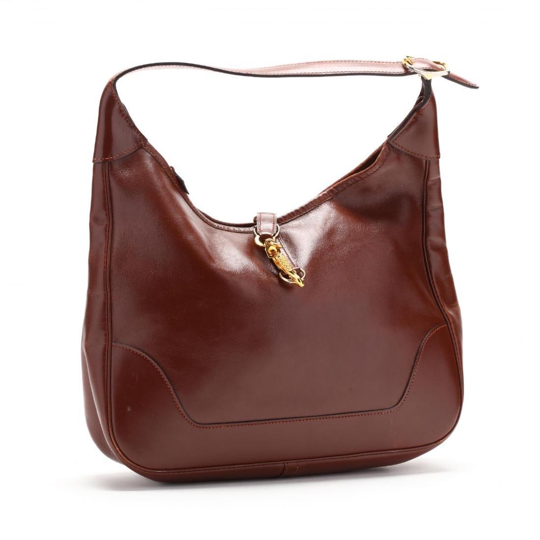 A Satchel Box Handbag,  Trim I  , Hermès