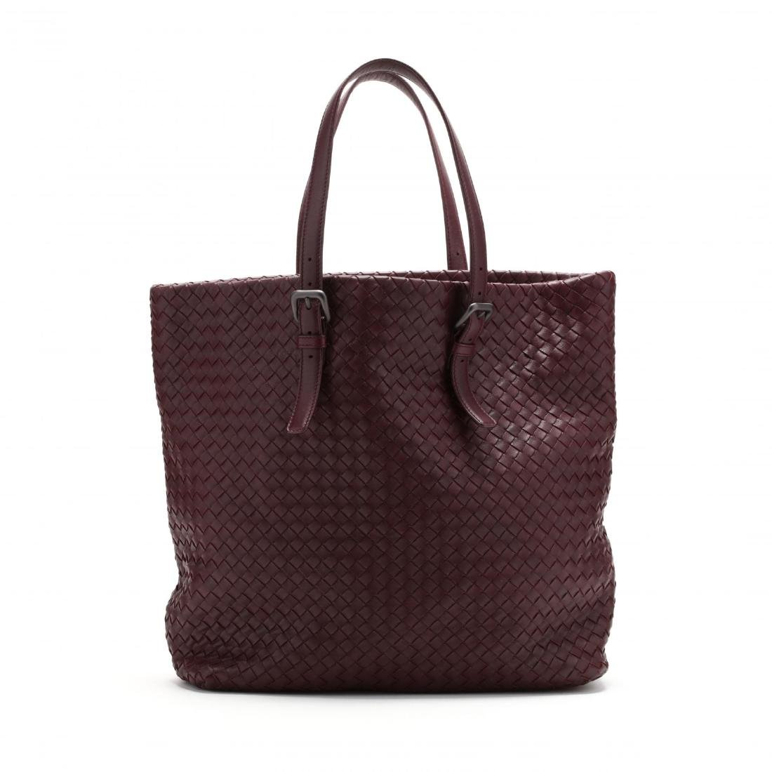 Intrecciato Woven Leather,  Rene Tote Style , Bottega