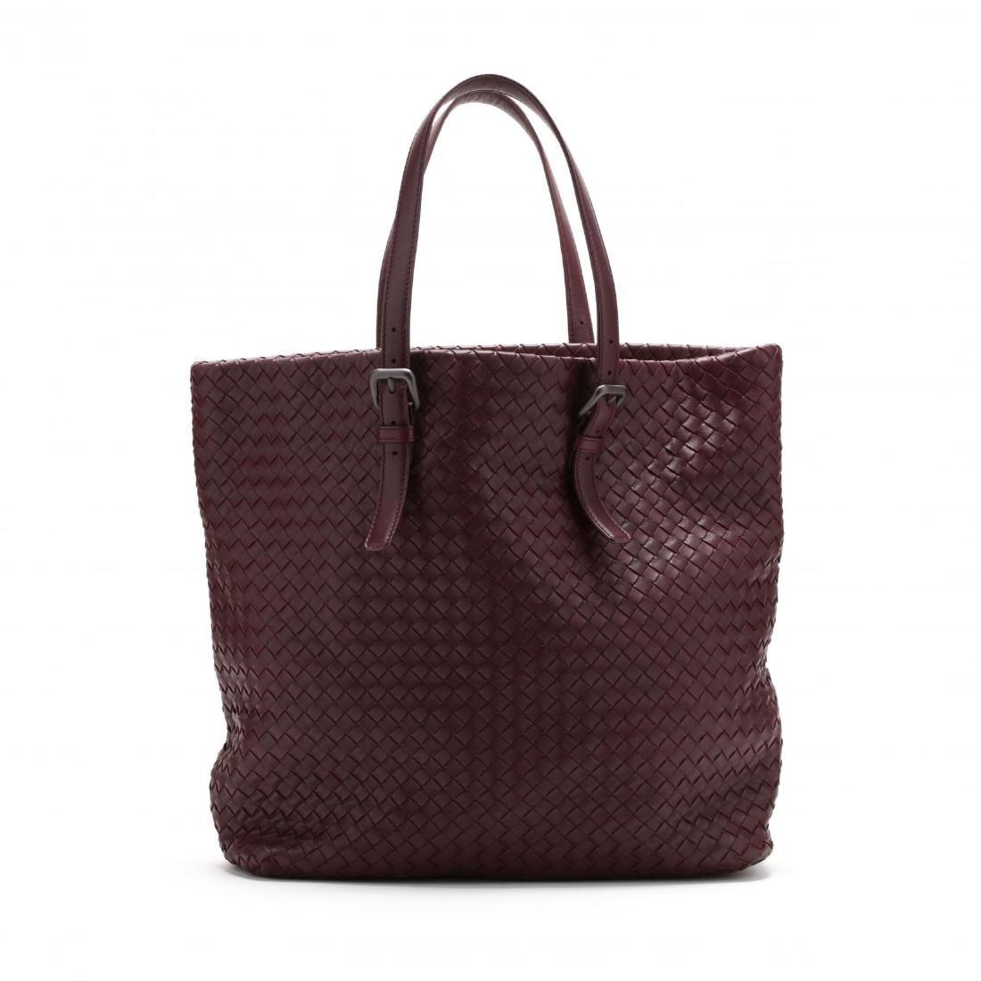 Intrecciato Woven Leather,  Rene Tote Style , Bottega