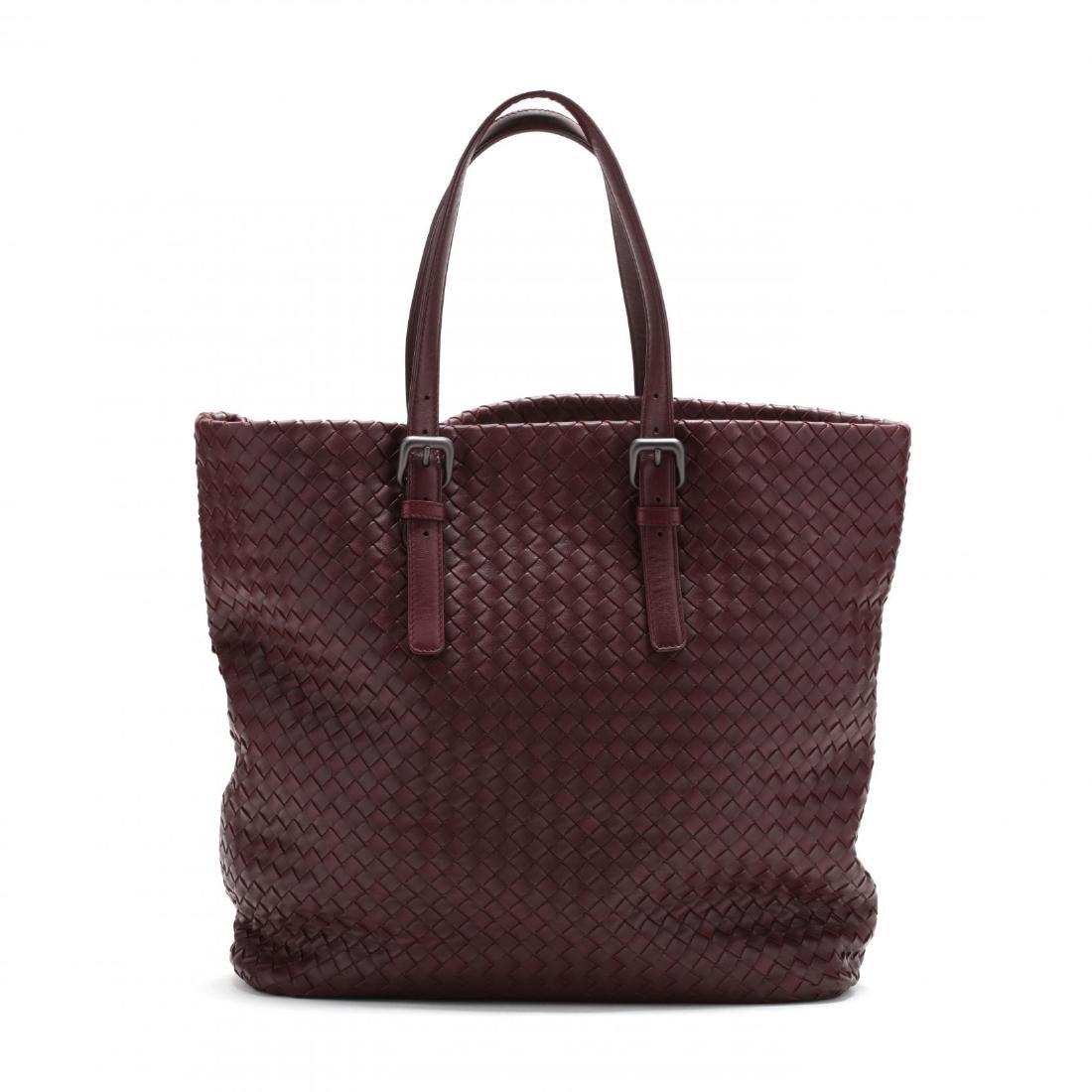 Intrecciato Woven Leather,  Rene Tote Style , Bottega - 3