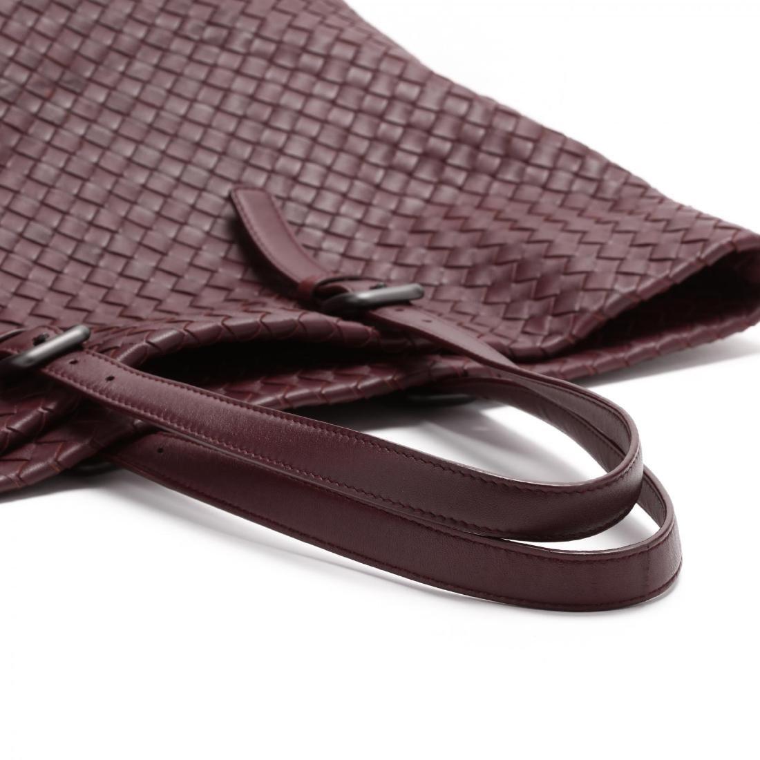 Intrecciato Woven Leather,  Rene Tote Style , Bottega - 4