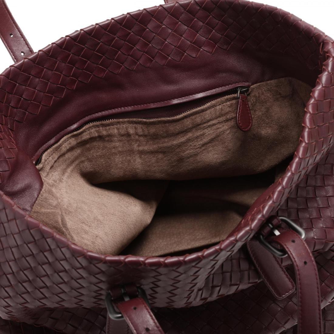 Intrecciato Woven Leather,  Rene Tote Style , Bottega - 6