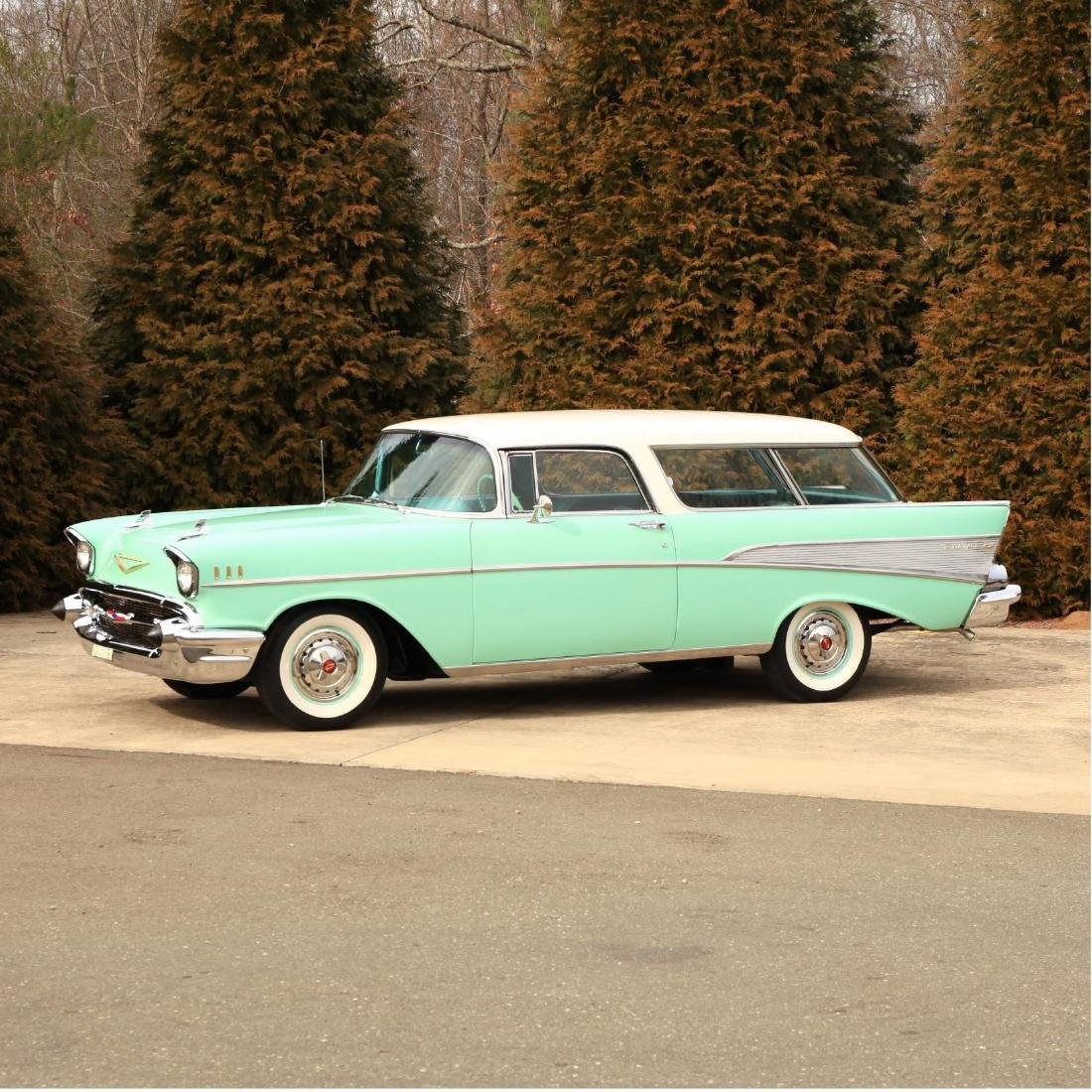 Rare and Original 1957 Chevrolet Bel Air Nomad