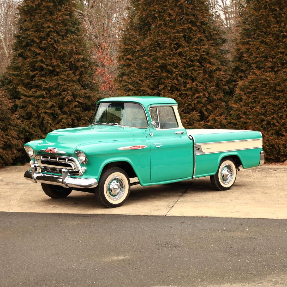 Rare and Original 1957 Chevrolet Cameo Carrier 3124