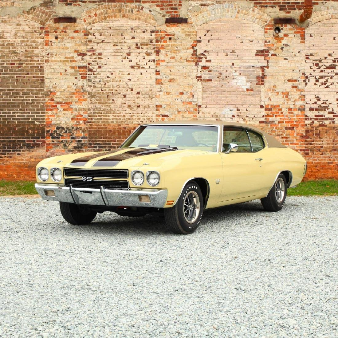 One-Owner 1970 Chevrolet Chevelle SS 396 L34/M-21 4