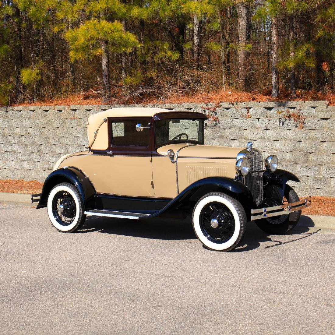 Rare 1930 Ford Model A Sport Coupe