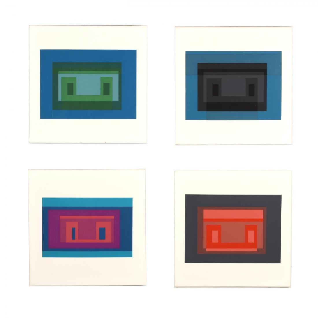 Josef Albers (American/German, 1888-1976), Four