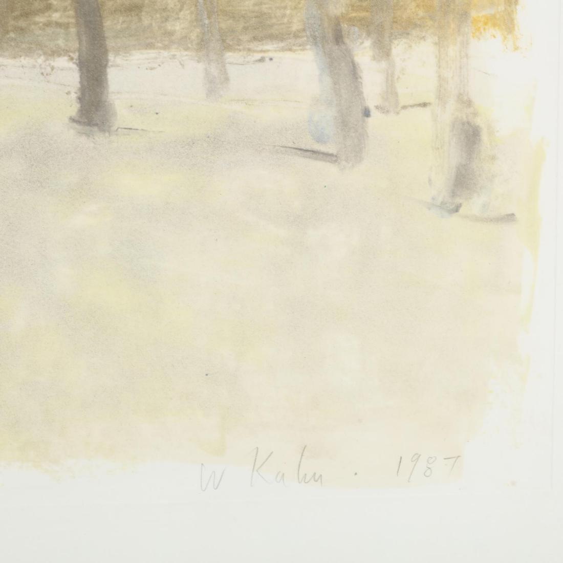 Wolf Kahn (American/German, b. 1927),  Barn Behind - 2