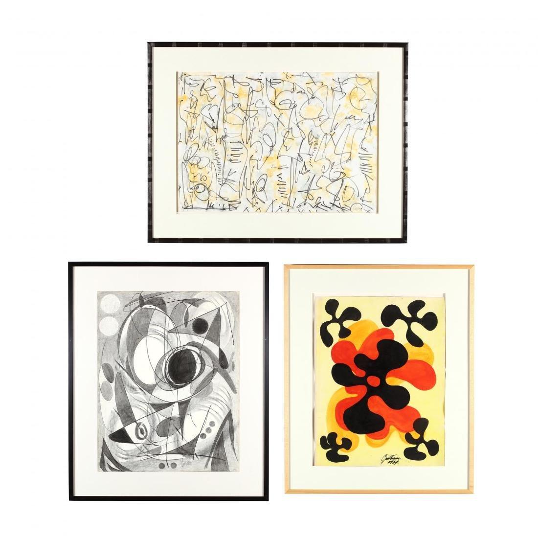 Guntram Gersch (NC, 1935-2013), Three Original