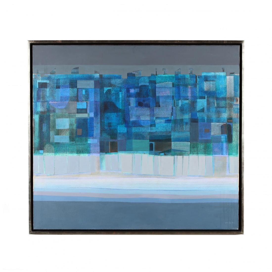 Joe Cox (NC, 1915-1997),  Condoscape: Opus Blue
