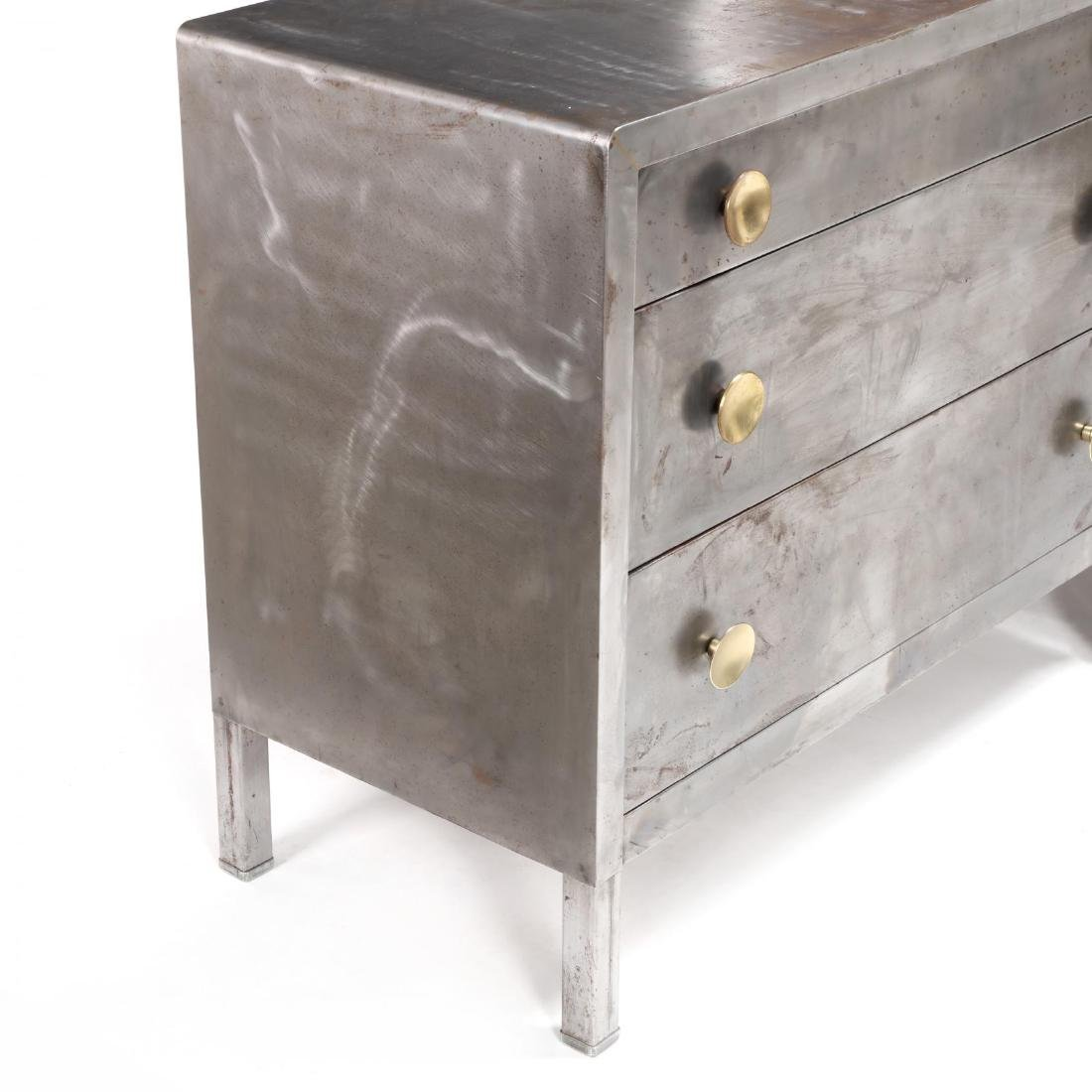 Norman Bel Geddes, Pair of Industrial Metal Chests - 4