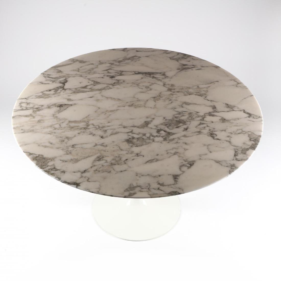 Eero Saarinen, Round Marble Top  Tulip Table - 2