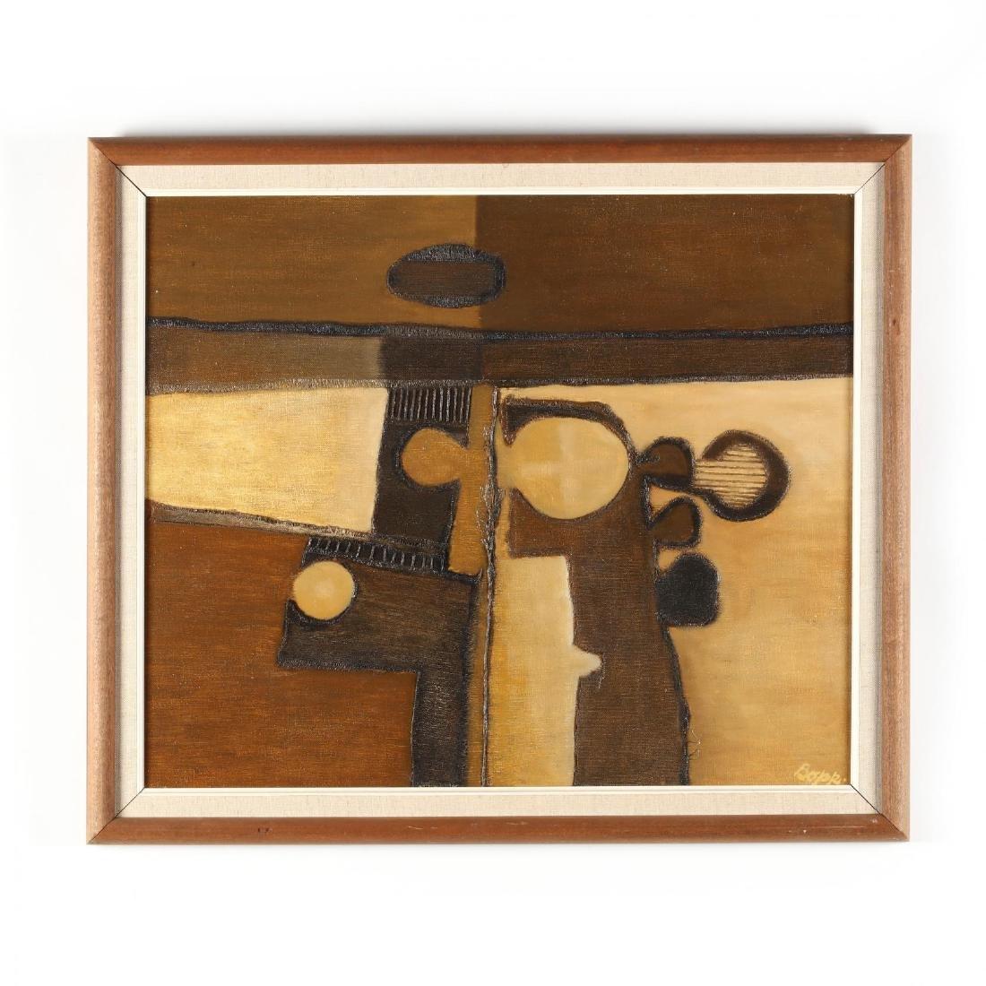 Emery Bopp (SC, 1924-2007),  Muted Landscape