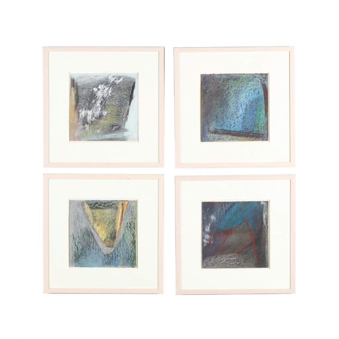 Herb Jackson (NC, b. 1945), Four Works on Paper