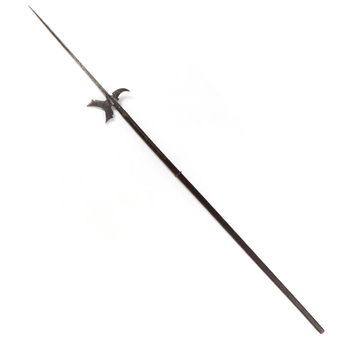Continental Halberd, 17th - Early 18th Century