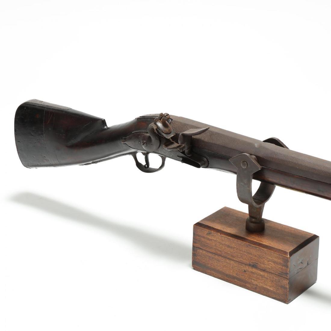 Imposing English Flintlock Rampart Gun - 2