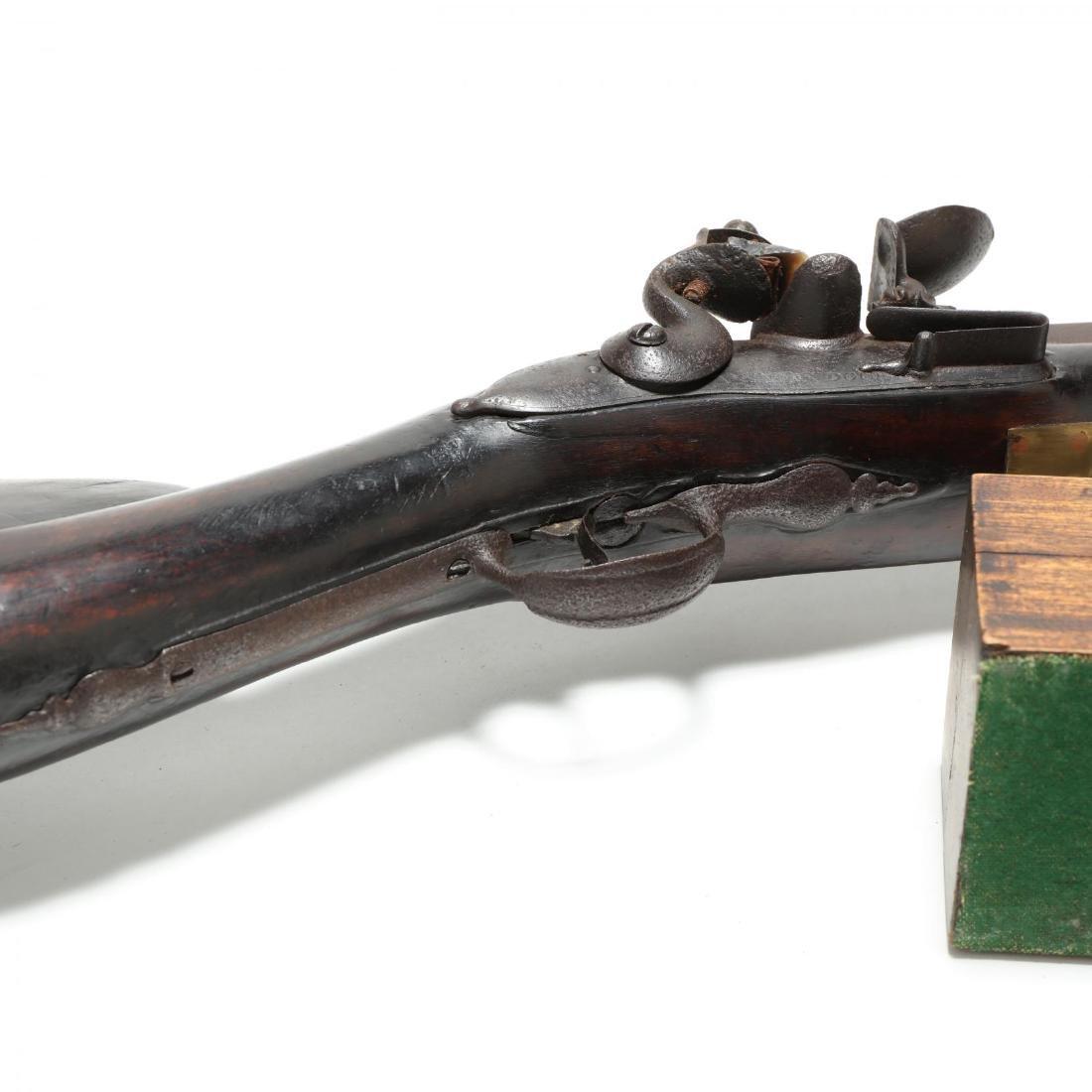 Imposing English Flintlock Rampart Gun - 6