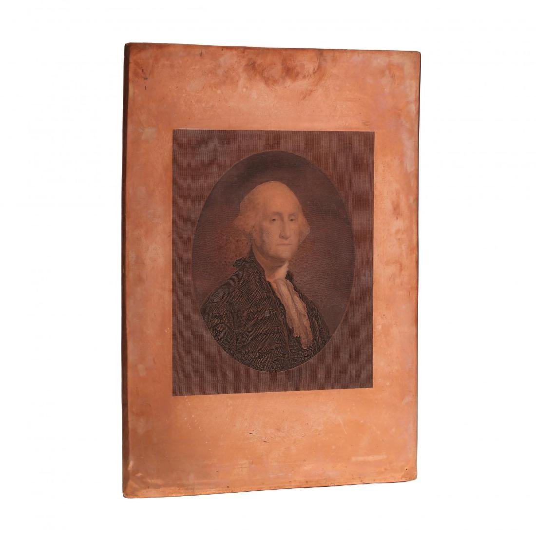 """Copper Printing Plate for """"Marshall's Household"""
