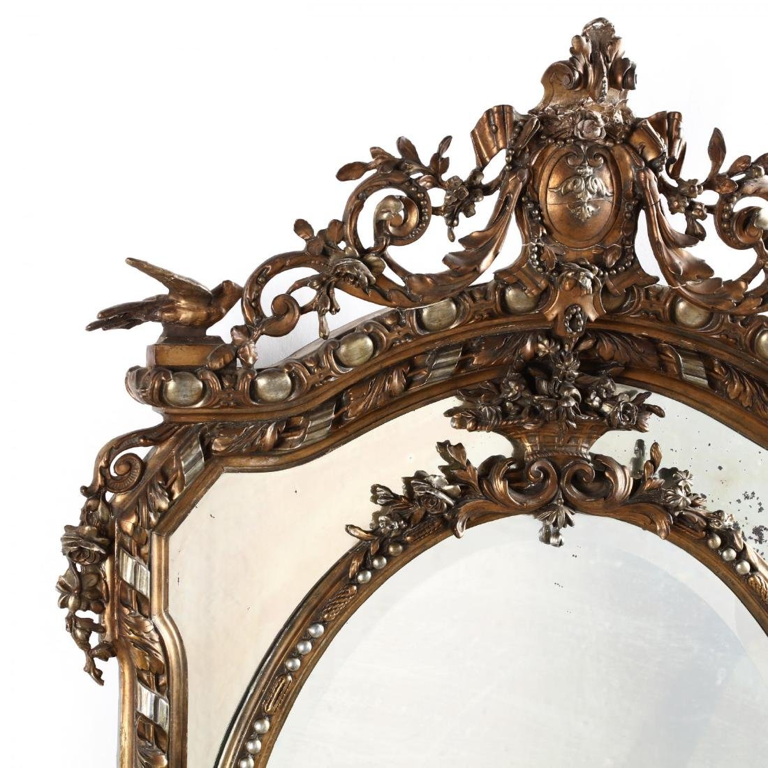 Louis XV Style Carved and Gilt Mirror - 2