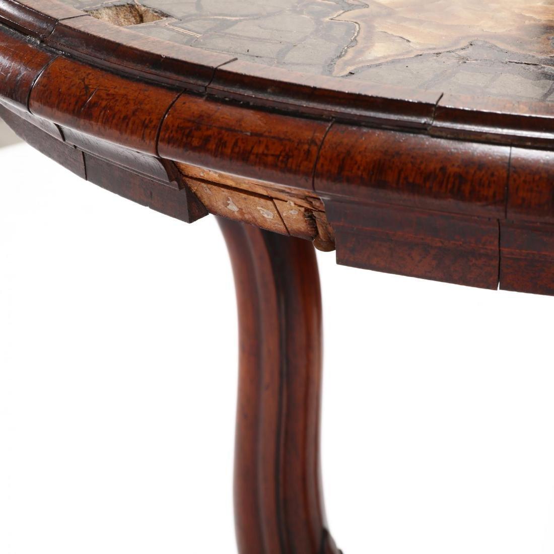 Italian Rococo Revival Specimen Top Parlour Table - 5