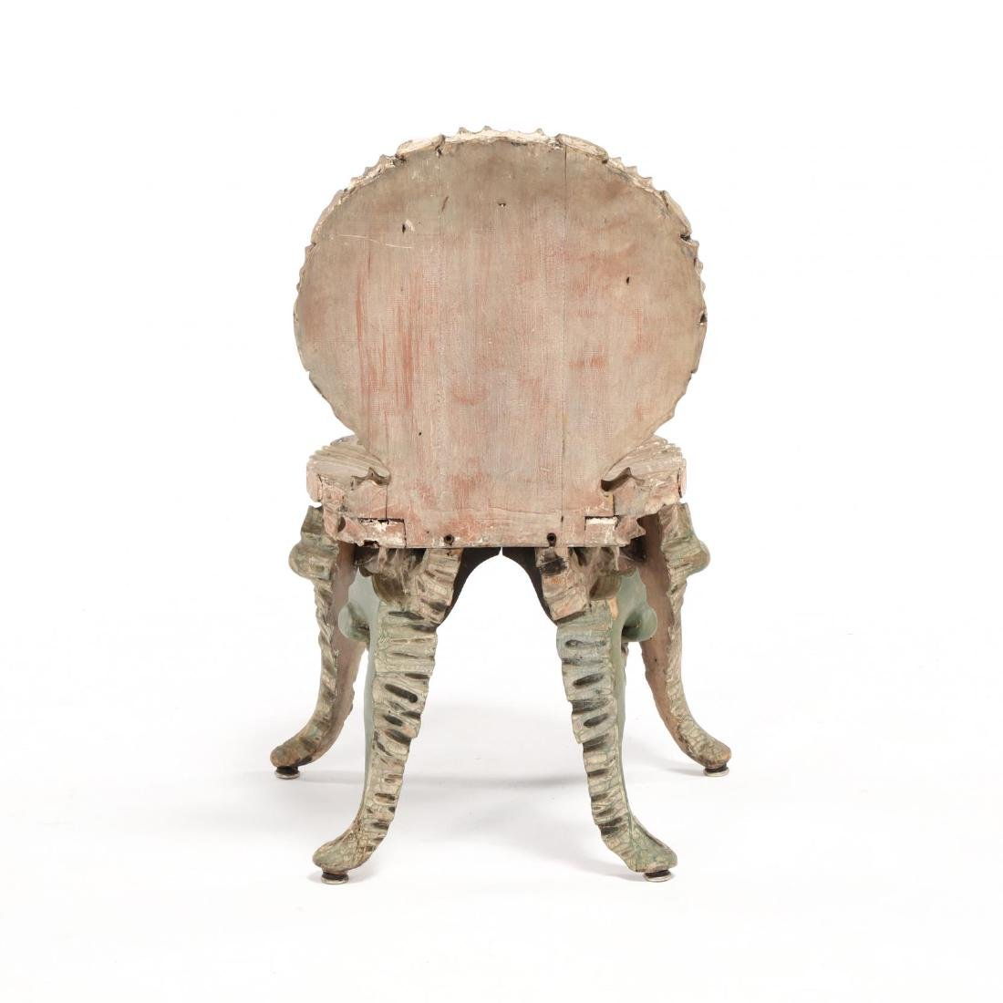 Venetian Carved Grotto Side Chair - 4