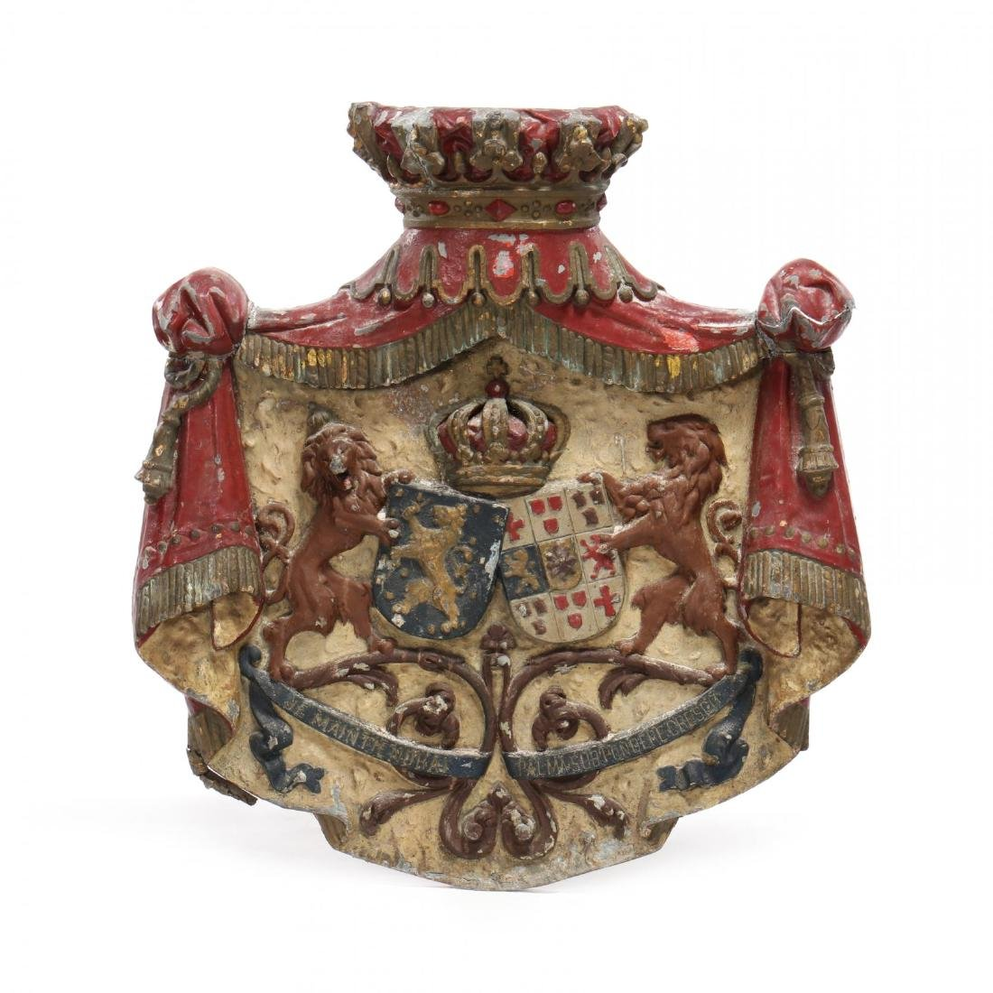 The Personal Coat-of-Arms for Queen Emma of the
