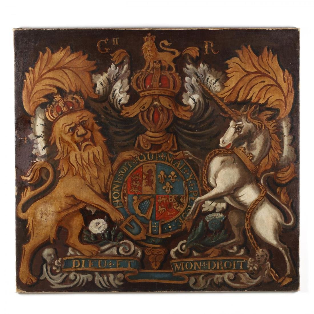 Posthumous Coat-of-Arms for Britain's King George II