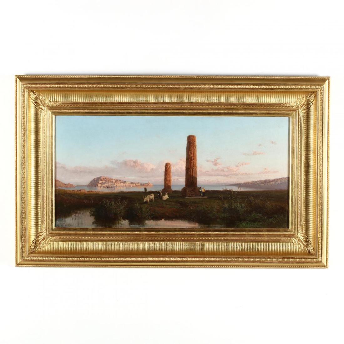 Alessandro La Volpe (Italian, 1820-1887), Coastline