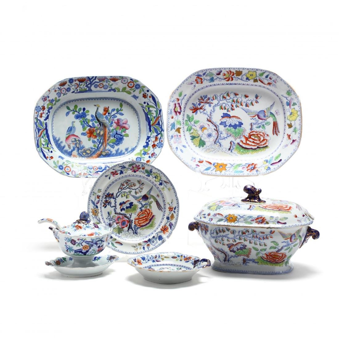 19th Century Ironstone Group incl. Mason's and
