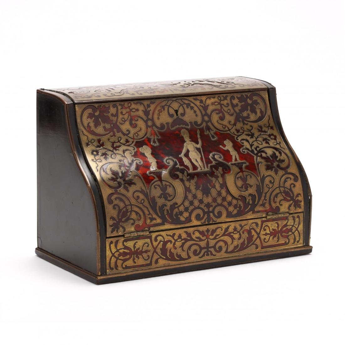 Antique Boulle Letter Box by Charles Asprey