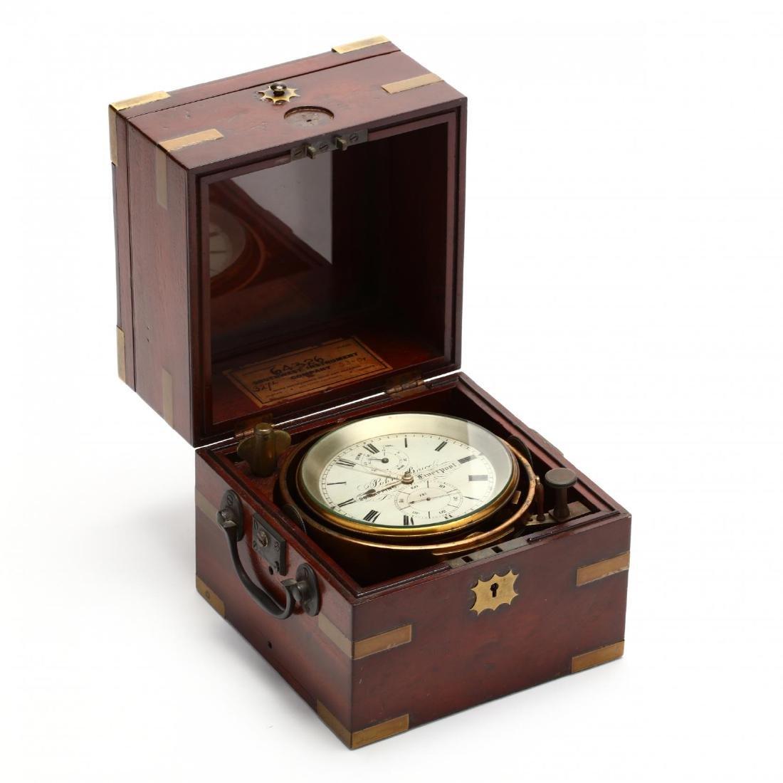 English Marine Chronometer by John Bruce of Liverpool